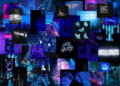 4k light blue aesthetic macbook wallpaper collage free