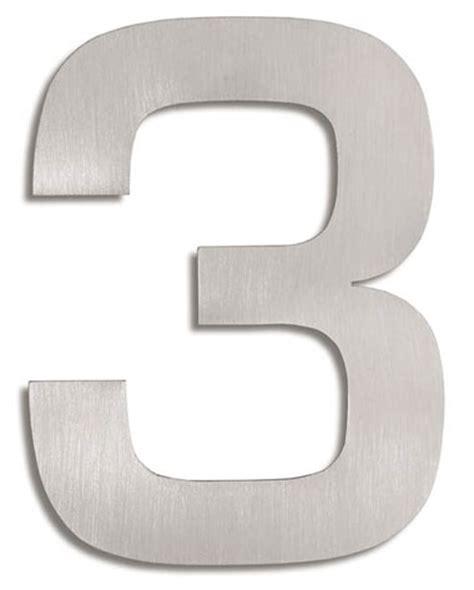 House Number Signs Modern House Numbers  3 Nova68com