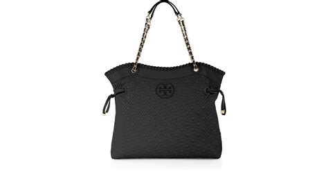 burch marion quilted slouchy tote burch marion quilted slouchy tote in black lyst