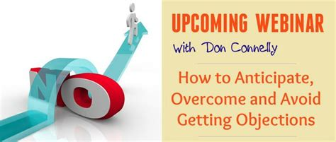 Insights  Overcoming Objections  Training And Coaching For Financial Advisors  Don Connelly 247