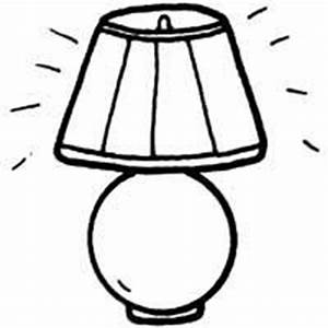 Desk Lamp Coloring Pages Surfnetkids