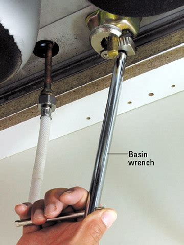installing new kitchen faucet new 11 16 280 400mm adjustable besin wrench sink bath spanner plumbing tool ebay