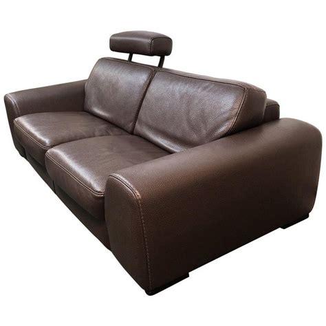 Roche Bobois Leather Sofa by Roche Bobois Leather Sofa Original Price 10 000