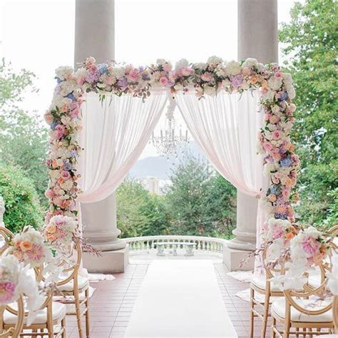 32+ Unique and Breathtaking Wedding Backdrop Ideas CueThat