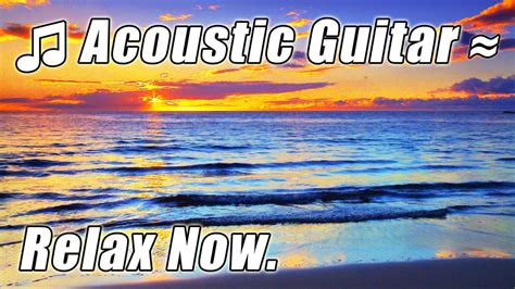 Acoustic Guitar Music Relaxing Songs On Hawaii Beaches