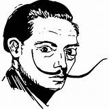 Pages Coloring Corner Own Pencil Pen Cartoon Vaildaily Dali Salvador Adobe Drew Turned Then Using Into sketch template