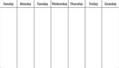 calendar templates weekly blank calendars weekly blank calendar templates
