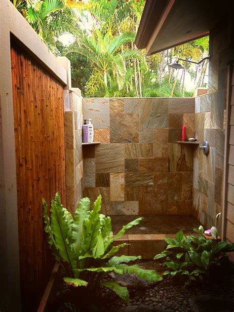 Tropical Shower by Outdoor Shower Hi Dreamshower Toilettreeproducts
