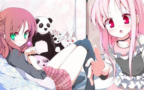 High Quality Image Of Garden Wallpaper Of Anime Girl