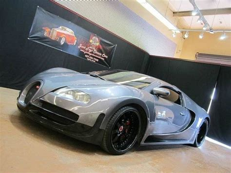 Bugatti Veyron Replica Based On Mercury Cougar, Asking
