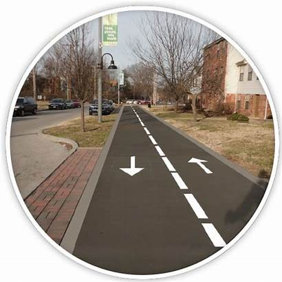 Trail Neighborhood Residential Greenway Plan Through Standard