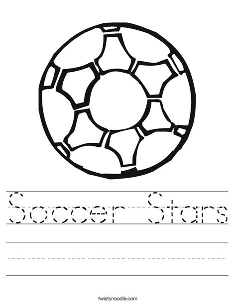 free coloring pages of soccer math worksheets
