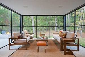 16, Irresistible, Modern, Sunroom, Designs, That, Will, Secure