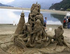 Sand Castle Contest Cannon Beach Oregon