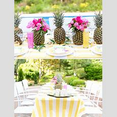 Tropical Bridal Shower Inspiration  The Yes Girls