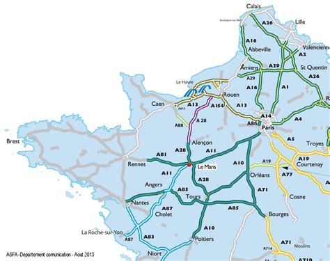Carte Des Autoroutes Du Centre De La by Carte Des Autoroute De Gratuite My