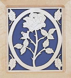 Scroll Saw Pattern for Rose Fretwork – Scrollsaw com