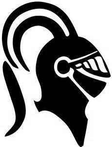 Black Knight Head Logo