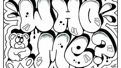 Coloring Pages Graffiti Teenagers Getdrawings Pdf Printable
