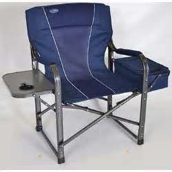 due director s chair with cooler and table