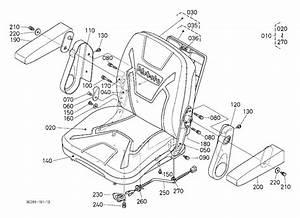 M23600 Seat  Component Parts  Hood  Bonnet Epc Kubota Online