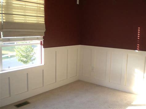 s room chair rail panel trim by joe