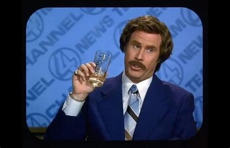 Ron Burgundy Scotch Meme - booze friday ron burgundy blended scotch whisky