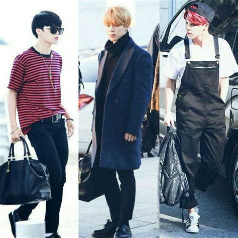 bts airport fashion armys amino