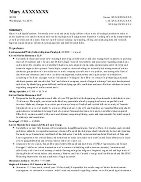support specialist resume exle state