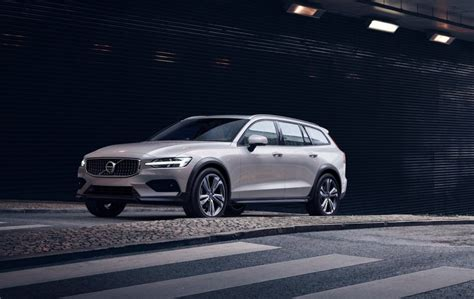 volvo  cross country takes rugged wagon  road