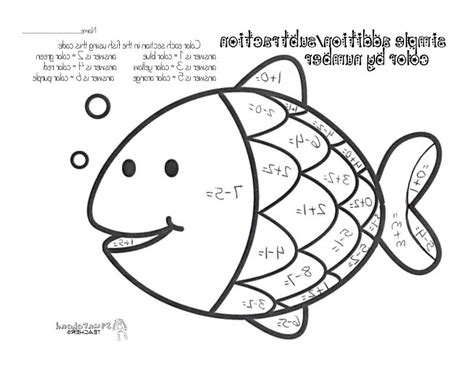 Subtraction Coloring Pages 27003,