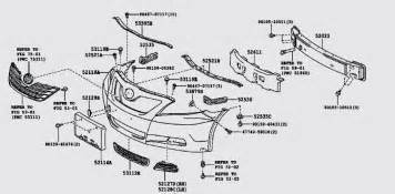 toyota camry ce can anyone give me a front parts diagram