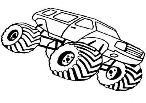 ausmalbilder monster truck kostenlos malvorlagen zum