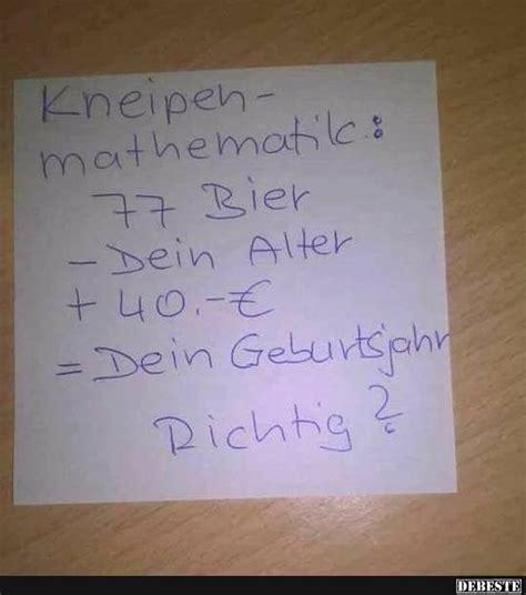 kneipen mathematik lustige bilder sprueche witze