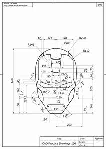 Cad Practice Drawings 160 Png  1131 U00d71600