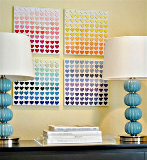 creative wall decor ideas 100 creative diy wall ideas to decorate your space brit co