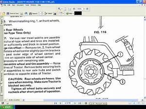 Massey Ferguson Mf 1160 1180 1190 Mf1160 Tractor Manual