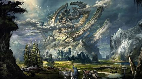 fantasy art wallpapers hd desktop  mobile backgrounds