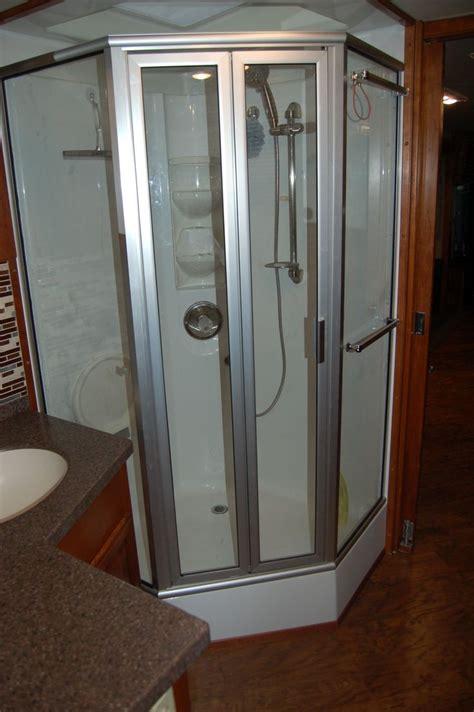 rv shower enclosures 7 best rv shower upgrades images on motorhome