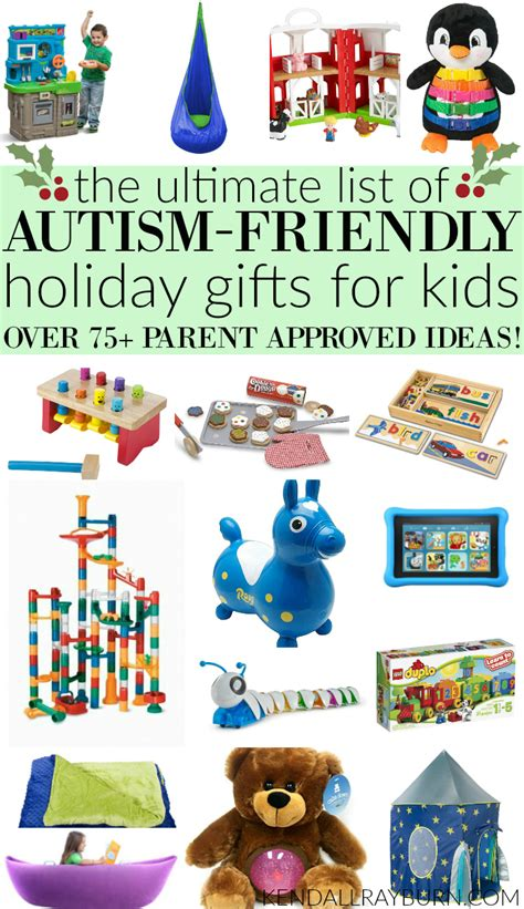 autism friendly holiday gifts for kids 75 parent