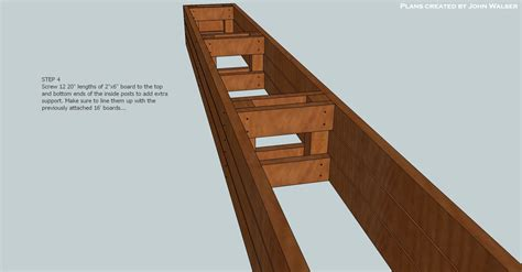 187 plans deck storage bench pdf plan of