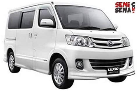 Review Daihatsu Luxio by Harga Daihatsu Luxio Review Spesifikasi Gambar Maret