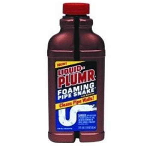 liquid drano for sinks liquid plumr foaming pipe snake review cleared