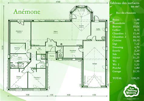 cuisine modulable modèle et plans anemone du constructeur maisons clairval