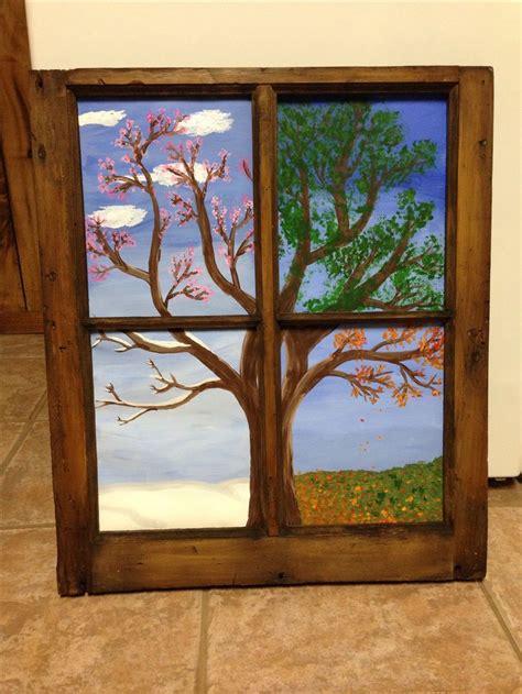 Herbstdeko Kinderzimmerfenster by The 25 Best Four Seasons Ideas On Four