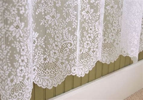 lace shower curtain lace