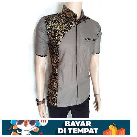 terbaik motif baju batik modern pria desain terbaik