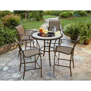 essential garden welles 4 sling bar chairs review cheap