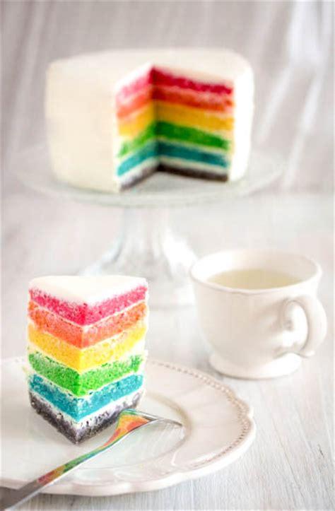 cuisine vegetalienne un autre rainbow cake sur la toile jujube en cuisine