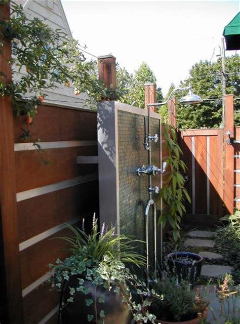 inspiring outdoor shower ideas